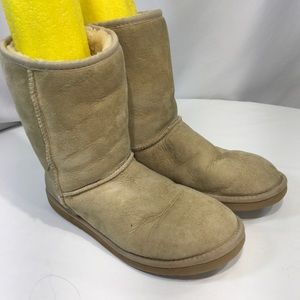 UGG Australia Classic Short Boot Tan Sheepskin 8